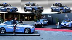 Alfa Romeo Giulia, Giulietta e Jeep Renegade: rinforzi per la Polizia