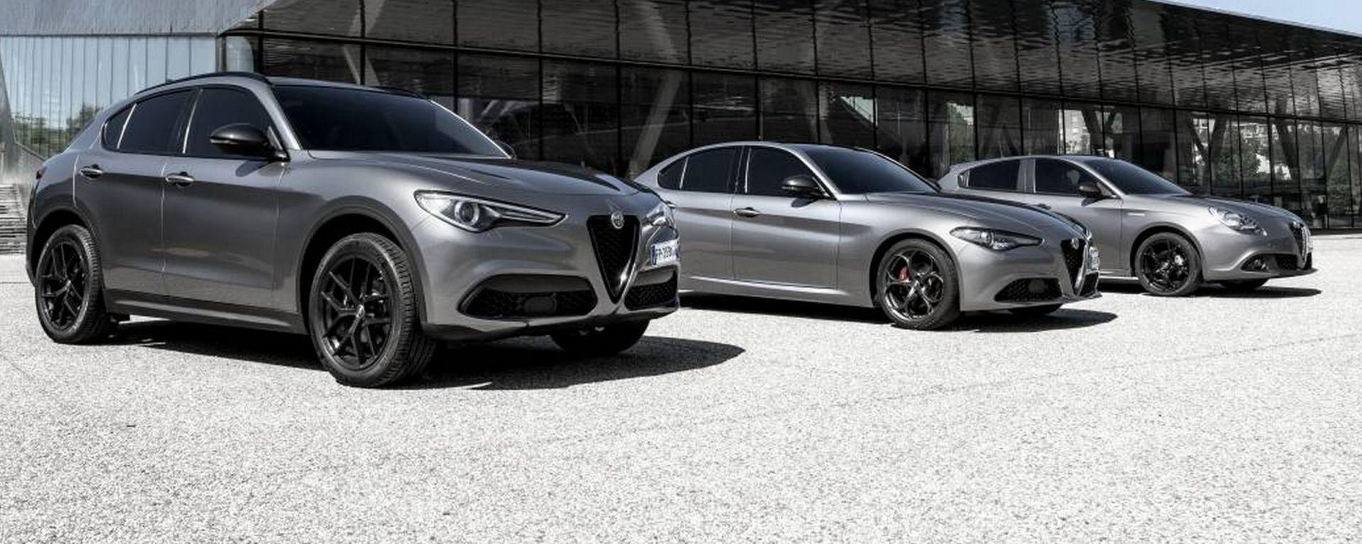 Alfa Romeo: ecco Giulia, Giulietta e Stelvio B-Tech