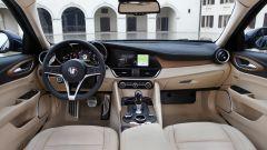 Alfa Romeo Giulia: gli interni