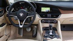 Alfa Romeo Giulia, gli interni