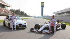In video Alfa Romeo Giulia GTA provata dai piloti del team F1