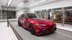 Alfa Romeo Giulia GTAm 2021: il prototipo in galleria del vento