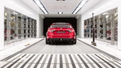 Alfa Romeo Giulia GTAm 2021 nella galleria del vento Sauber