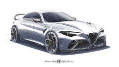 Alfa Romeo Giulia GTAm anteriore
