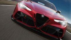 Alfa Romeo Giulia GTAm, frontale ultra-aerodinamico