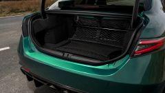 Alfa Romeo Giulia GTAm, il bagagliaio