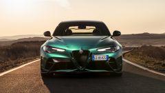 Alfa Romeo Giulia GTAm, il frontale
