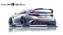 Alfa Romeo Giulia GTAm, il posteriore