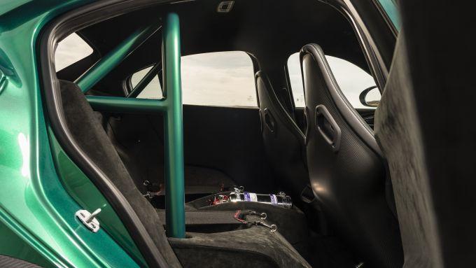 Alfa Romeo Giulia GTAm, il rollbar