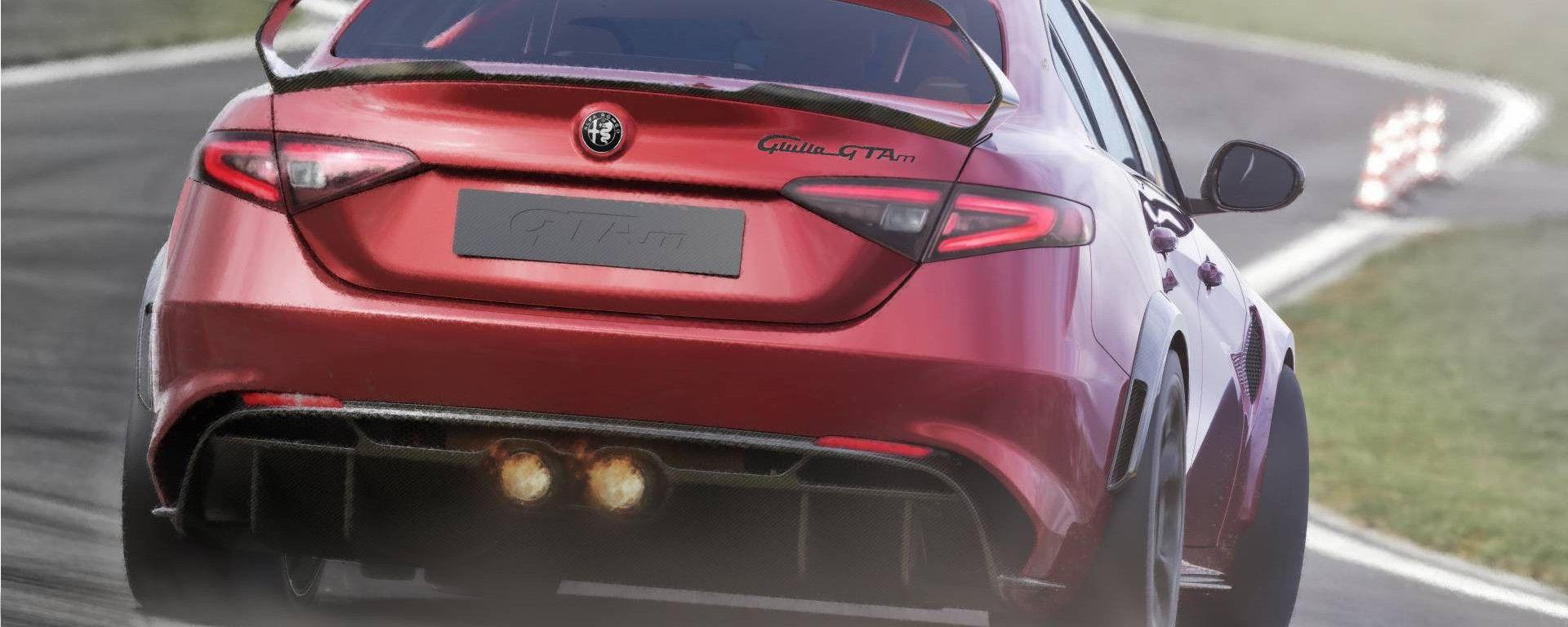 Alfa Romeo Giulia GTAm, tentativo di record al 'Ring?