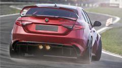 Alfa Romeo Giulia GTAm, torna un nome leggendario
