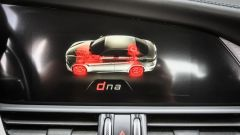 Alfa Romeo Giulia: il display dell'infotainment