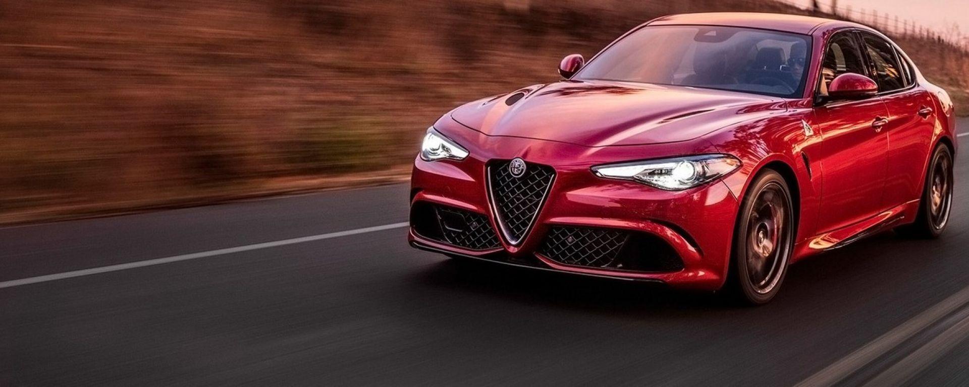Alfa Romeo Giulia, la gamma a benzina potrebbe presto accogliere un 1.3 turbo