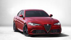 Alfa Romeo Giulia, lo spoiler mobile in azione - Immagine: 7