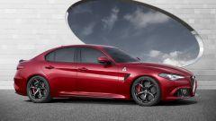 Alfa Romeo Giulia, lo spoiler mobile in azione - Immagine: 6