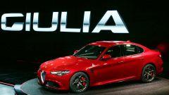 Alfa Romeo Giulia, lo spoiler mobile in azione - Immagine: 9