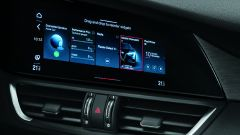 Alfa Romeo Giulia MY2020, nuovo display touch da 8,8 pollici