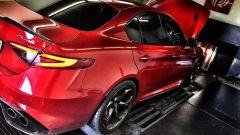 Alfa Romeo Giulia Quadrifogli by Pogea Racing: la prova al banco