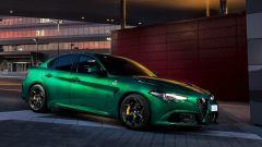 Alfa Romeo Giulia Quadrifoglio 2020, motore V6 da 510 cv