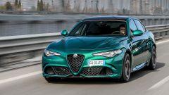 Alfa Romeo Giulia Quadrifoglio 2020 nella nuova tinta Verde Montreal