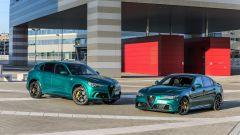 Alfa Romeo Giulia Quadrifoglio 2020, nuovo design dei cerchi