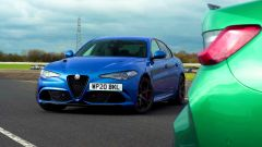 Alfa Romeo Giulia Quadrifoglio 2021 vs nuova BMW M3 Competition