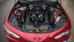 Alfa Romeo Giulia Quadrifoglio: 2.9 V6 cilindri biturbo benzina in alluminio