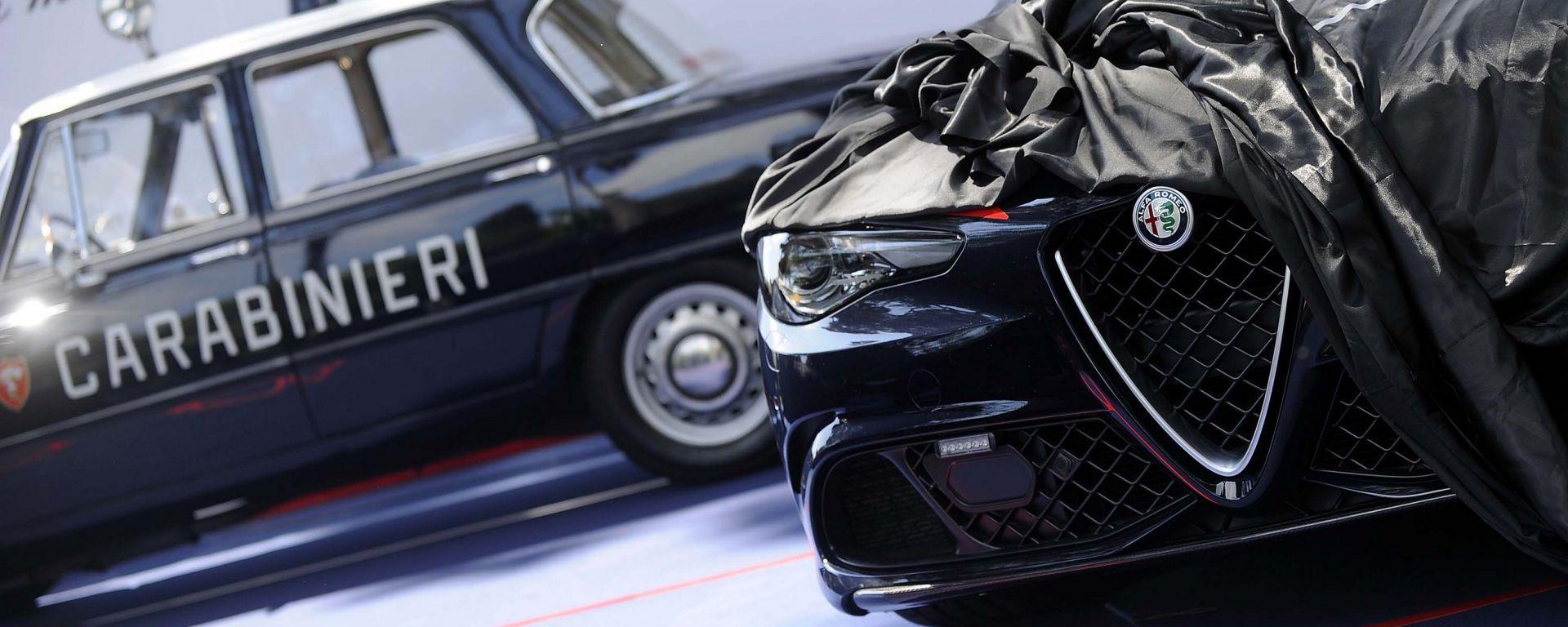 Alfa Romeo Giulia Quadrifoglio arruolata nei Carabinieri
