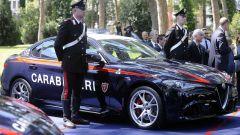 Alfa Romeo Giulia Quadrifoglio arruolata nei Carabinieri - Immagine: 4