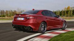 Alfa Romeo Giulia Quadrifoglio: assetto perfettamente calibrato per un impressionante rigore in curva
