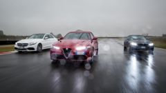 Alfa Romeo Giulia Quadrifoglio, BMW M4 GTS, Mercedes C63 AMG S: 1.520 cv messi assieme