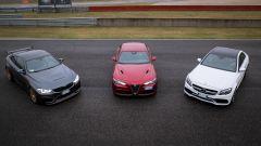 Alfa Romeo Giulia Quadrifoglio, BMW M4 GTS, Mercedes C63 AMG S: 3 modi di essere sportive