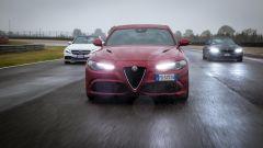 Alfa Romeo Giulia Quadrifoglio, BMW M4 GTS, Mercedes C63 AMG S: l'italiana contro le tedesche