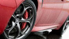 Alfa Romeo Giulia Quadrifoglio: cerchi da 19'' gommati Pirelli PZero
