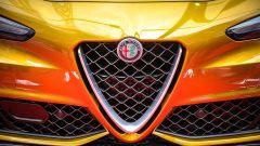 Alfa Romeo Giulia Quadrifoglio Gold: dettaglio frontale