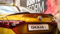 Alfa Romeo Giulia Quadrifoglio Gold: posteriore