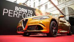 Alfa Romeo Giulia Quadrifoglio Gold: versione dorata per la 1000 Miglia