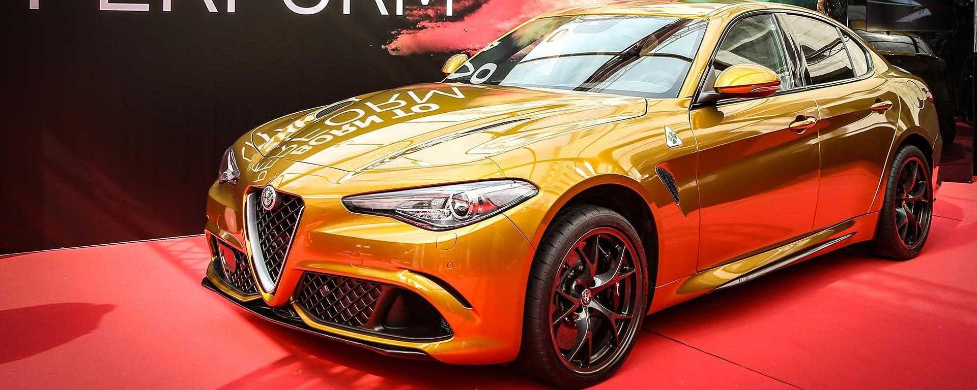 Alfa Romeo Giulia Quadrifoglio Gold