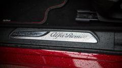 Alfa Romeo Giulia Quadrifoglio: il battitacco in alluminio