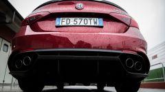 Alfa Romeo Giulia Quadrifoglio: il sound è bello ma non così cattivo come ci si aspetterebbe