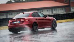 Alfa Romeo Giulia Quadrifoglio: in modalità Race l'elettronica non imbriglia per nulla