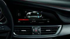 Alfa Romeo Giulia Quadrifoglio: infotainment con ottimo monitor da 8,8