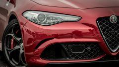 Alfa Romeo Giulia Quadrifoglio: la grossa presa d'aria anteriore