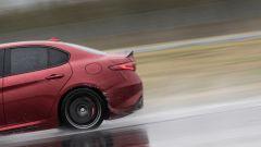 Alfa Romeo Giulia Quadrifoglio: la trazione, manco a dirlo, è posteriore