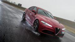 Alfa Romeo Giulia Quadrifoglio: la velocità massima è di 307 km/h