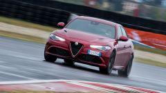 Alfa Romeo Giulia Quadrifoglio: lo 0-100 avviene in 3,9 secondi