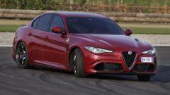 Alfa Romeo Giulia Quadrifoglio: lo sterzo è sempre preciso e diretto