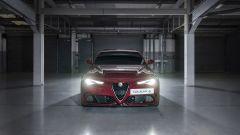 Alfa Romeo Giulia Quadrifoglio nei box di Silverstone