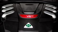 Alfa Romeo Giulia Quadrifoglio: nel motore V6 c'è un po' di Ferrari, deriva dal V8 di Maranello