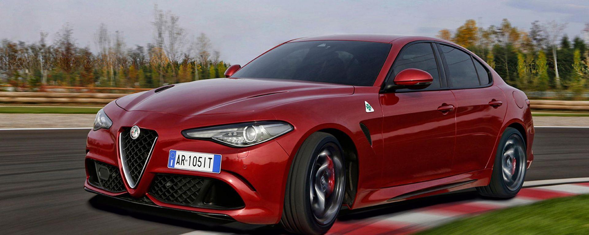 Alfa Romeo Giulia Quadrifoglio: ora disponibile anche col cambio automatico 8 rapporti